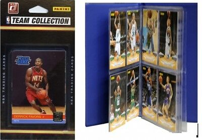 C & I Collectables 2010NETSTS NBA New Jersey Nets Licenced 2010-11 Donruss