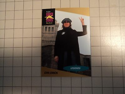 1991 Pro Set  John Lennon Beatles Super Stars Legends Music card # 15