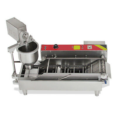 110/220V Commercial Electric Automatic Doughnut Donut Machine Donut Maker 6KW