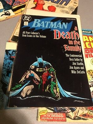 Batman: A Death in the Family - DC Comics - All Four Collector's Issues in One