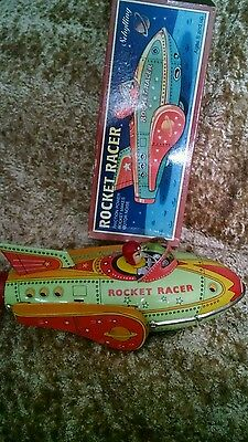 Rocket Racer collectable by Schylling. Tin.