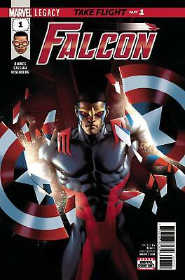 FALCON #1 | LEGACY | LOWEST PRICE ONLINE!!! | Premier Issue!!! | $1.99 Shipping!