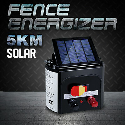 0.15J Farm Pet Animal Solar Electric Fence Energizer Power Charger 5km and 8km