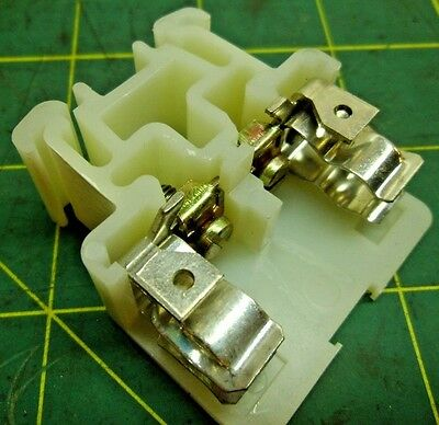 Fuse Clip Screw Terminal Block Holder Wire Clamp 600V 10A 10-22 Awg (5) #3391A