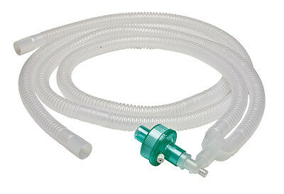 Ventilator Circuit With Fixed Elbow & Bacteria Viral Filter ( Pack Of 3 Pcs )