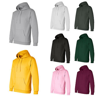 Men Women Hooded Sweatshirt Pullover Hoody Plain Design Hoodie Jumper Casual