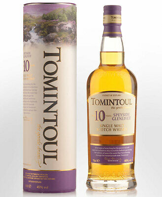Tomintoul 10 Year Old Single Malt Scotch Whisky (700ml)