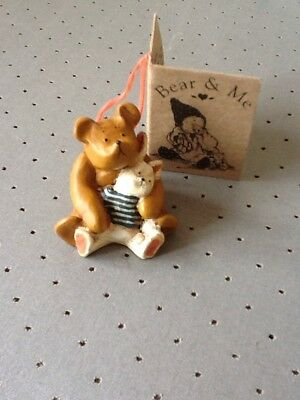 colourbox bear and me collectables, mini Bear with Teddy