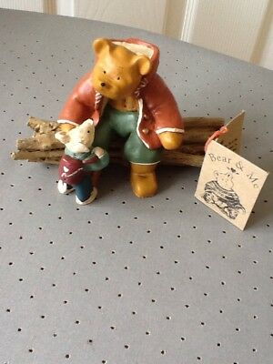 colourbox Bear and Me collectables, bear on Twigs