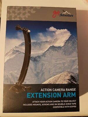Goji Adventure Action Camera Range Extension Arm Fully Compatible with GoPro