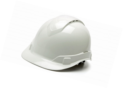 Pyramex Safety HP44110V Ridgeline Cap Style Hard Hat with 4-Point Vented Ratchet