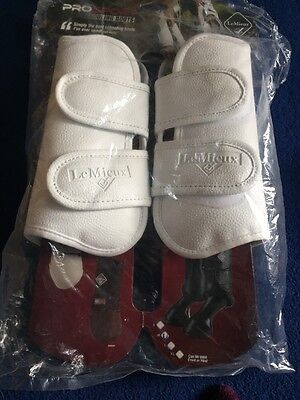 Lemieux Dressage Schooling Boots White Size Medium