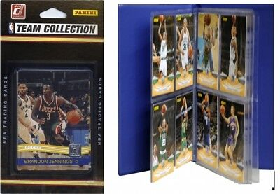 C & I Collectables 2010BUCKSTS NBA Milwaukee Bucks Licenced 2010-11 Donruss