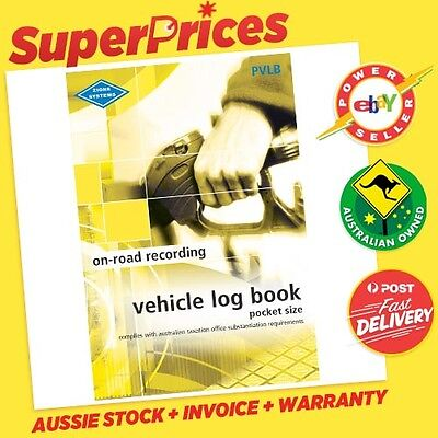 ZIONS◉PVLB Vehicle Log Bk◉Pocket Size◉64 PAGES◉CAR TRUCK◉COMPACT◉ATO Compliant◉