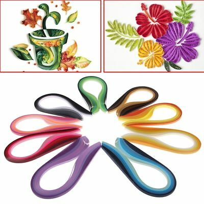 Quilling Paper 100 260 Stripes Mixed Color Origami Paper DIY Hand Craft 3mm Wide