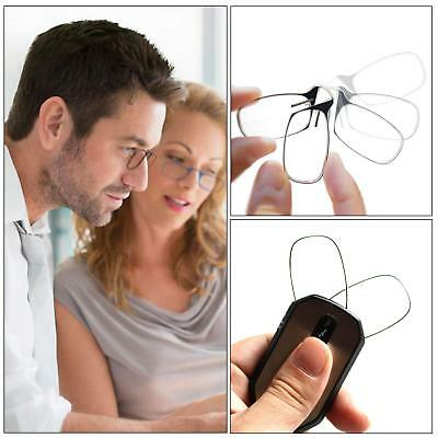 Keychain Mini Nose Clip Reading Glasses with Case 1.5 2.0 2.5 -Style Thinoptics