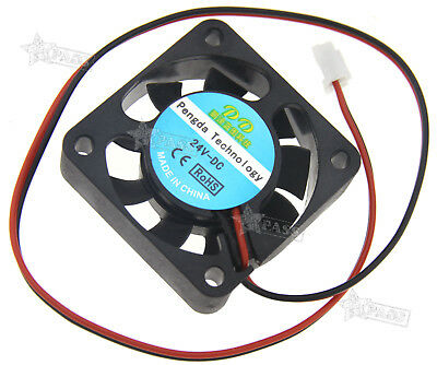 Cooling Computer CPU case mini brushless fan 24V DC 2 pin quiet 40mm 3D printer