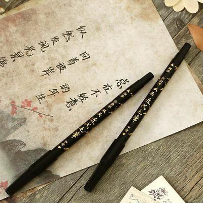 Soft Brush Calligraphy Twin Marker Black Ink Drawing Sketch Brush