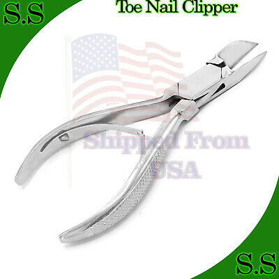 Professional Chiropody Toe Nail Clipper For Thick Nail Cutter Nipper Trimmer New