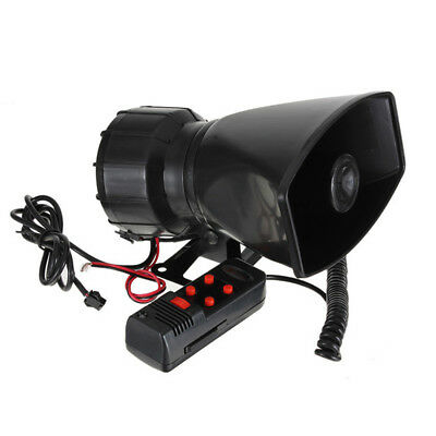 300db 12V  Loud Horn Car Van Truck 5 Sound Tone Siren Speaker Warning Alarm