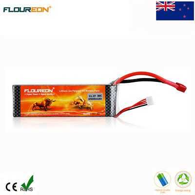 3S 11.1V 4500mAh 30C LiPo Battery Deans for RC Car Airplane Helicopter Drone AU