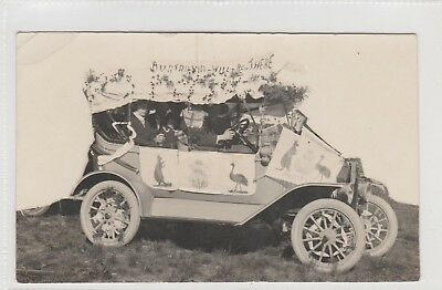 Vintage Postcard  Australia Will Be There Ww1 Campaign  Murat Bay S.a.1914