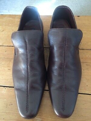 Mens Shoes Size 10 Brown Mod/retro/60s Brown Leather