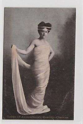VINTAGE POSTCARD TYPES OF AUSTRALASIAN BEAUTY CLASSIC POSES 1900s