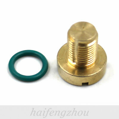 Brass Coolant Expansion Tank Bleed Screw Range Rover Bleeder For BMW