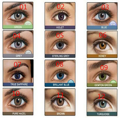 Coloured Contact Lenses Crazy Halloween Coloured Cosmetic Makeup Cosplay lens