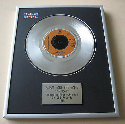 SEX PISTOLS Pretty Vacant PLATINUM SINGLE DISC PRESENTATION