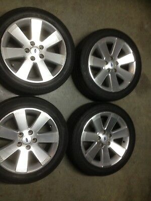 Ford Fairmont Ghia 17 Inch Wheels With Roadworthy Tyres Geelong Area