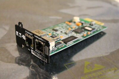 Eaton Network MS network card - fully reset and tested - minislot