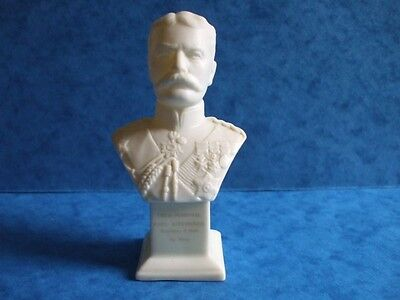 Crested china shelley parian Bust Field Marshall  Kitchener