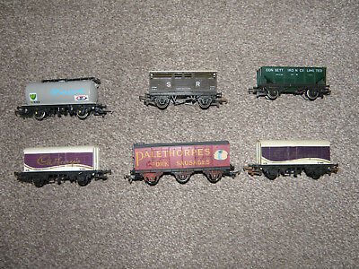 Hornby wagons - Job Lot of 6 - mostly Silver Seal -   OO Gauge
