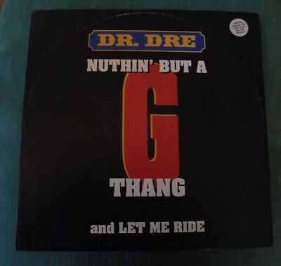 "DR.DRE  Nuthin' But a G Thang / Let Me Ride 12"" Single"