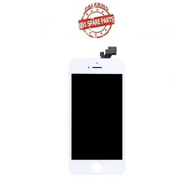 Lcd Touch Screen Vetro Display Per Iphone 5 Bianco A1428 A1429 A1442