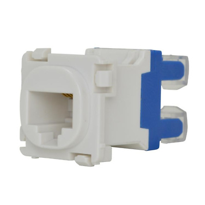 CAT6 CAT5e RJ45 Connector Mech Insert for Wall Plate suits Clipsal plates
