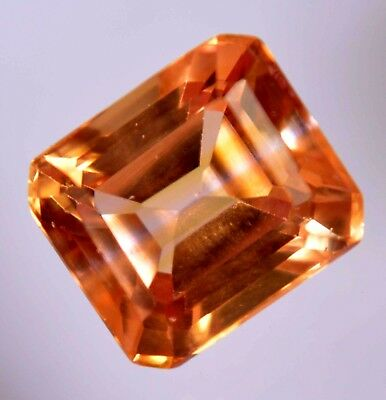 VS 5.55 Ct Natural Ceylon Padparadscha Sapphire AGSL Certified  AAA+ Gem Stone