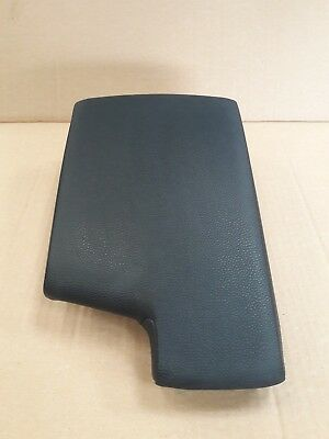 Bmw 3 Series E90 E91 E92  Black Leather Armrest Genuine