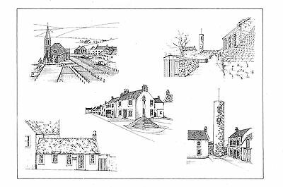 Abernethy The Church Kirk Wynd The Round Tower War Memorial Pitblae Cottage