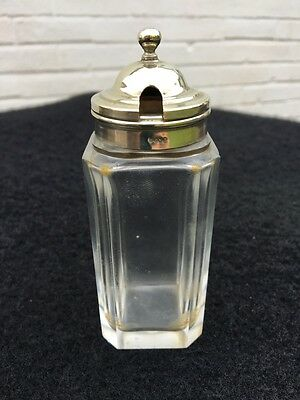 Vintage Glass Mustard Pot