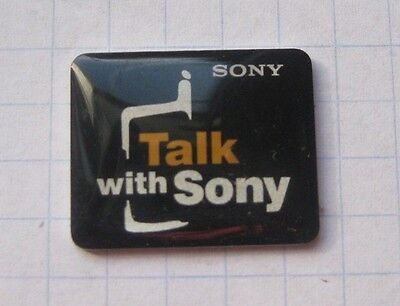 SONY / TALK WITH SONY  ..................Handy / Unterhalung Pin (117a)