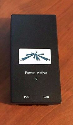 Genuine Ubiquiti Carrier POE Adapter Model UBI-POE-24-5 DC 24V,  0.5A  inc VAT