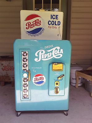 Pepsi Blue Vending Machine Ice Cooler