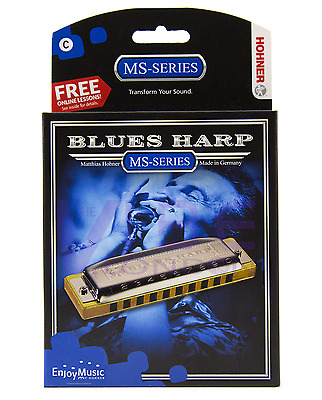 Hohner Blues Harp MS Series armonica a bocca Tonalità DO - C