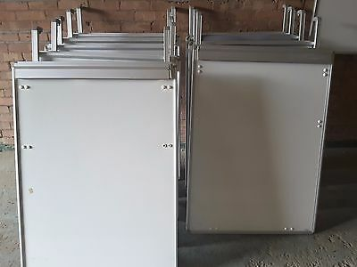 Job lot of 10 wall hanging white boards