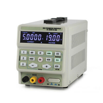 The Lab Programmable Adjustable Digital Regulated DC Power Supply 30V/5A