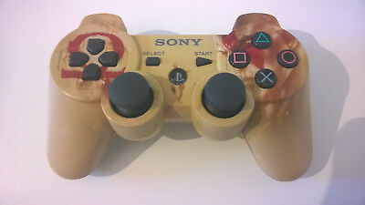SONY PS3 Controller Dualshock 3 Sixaxis God of War Design GoW Game Pad guter Z.
