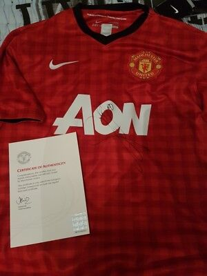 anderson signed shirt